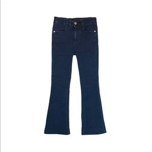 Stella McCartney Cropped (Altered Hem)Flare Jeans